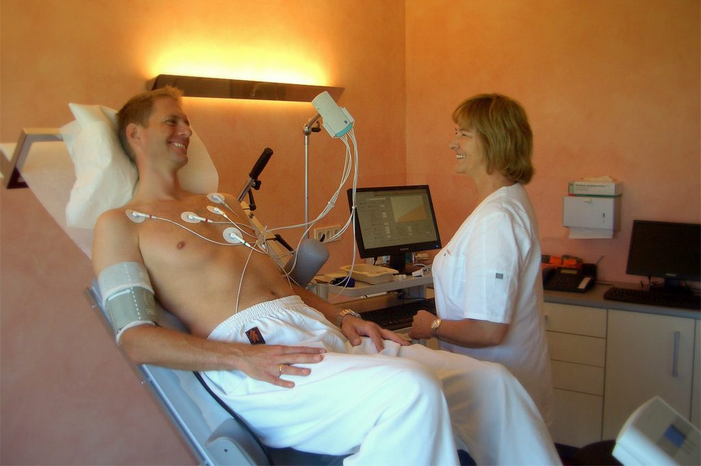 Belastungs-EKG | © Dr. med. J. Hötzel